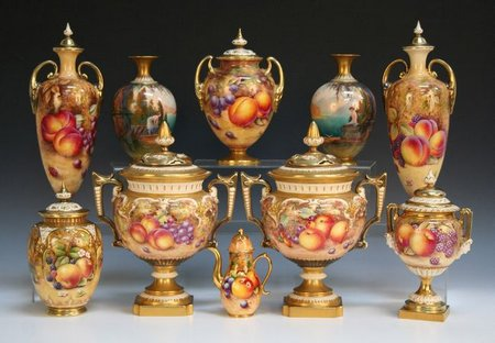 Surprising Royal Worcester Painted Fruit Pictures - Best Image ...