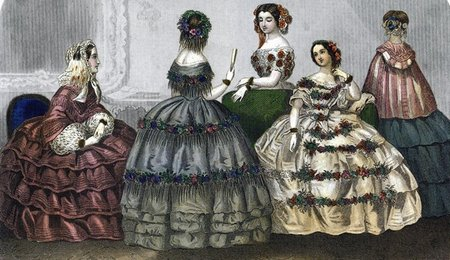 Crinoline Fashion Plate