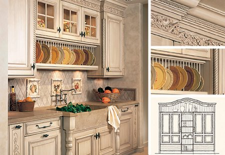 Tuscan Style Kitchen the tuscan style kitchen design - goldenfingers | goldenfingers