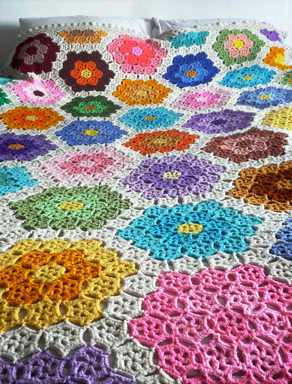 Crochet Afghan Pattern : Crochet afghan cover patterns