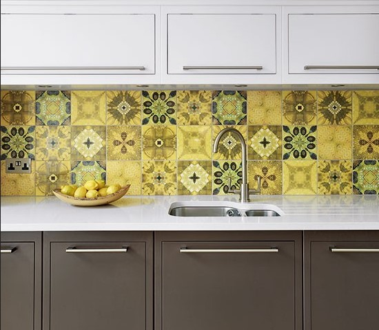 Wall Tiles Goldenfingers