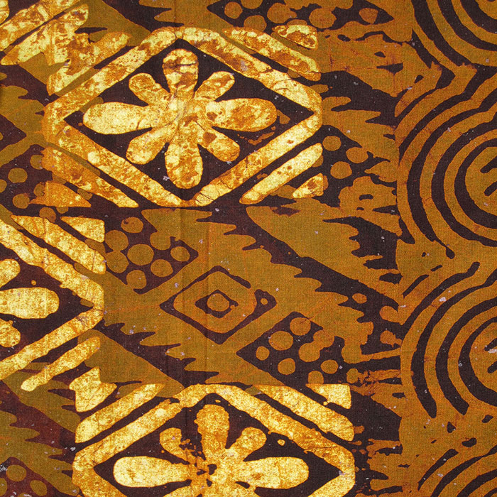 Cotton Hand Dyed African Batik