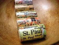 Atlas-Map-Paper-Beads