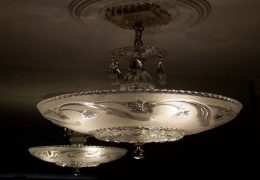 Find an Antique Chandelier or Make your Own