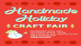 Handmade Holiday Craft Fair, Brooklyn, NY