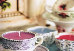 Making Teacup Candles