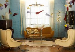 The 50's Style in Interior Design