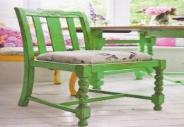 Distressed Vintage Chair