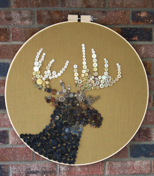 button deer