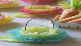 Easy Making Easter Paper Baskets