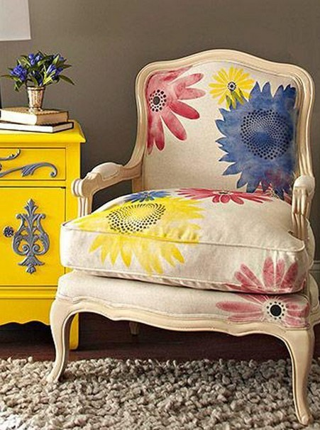 fabric paints idea