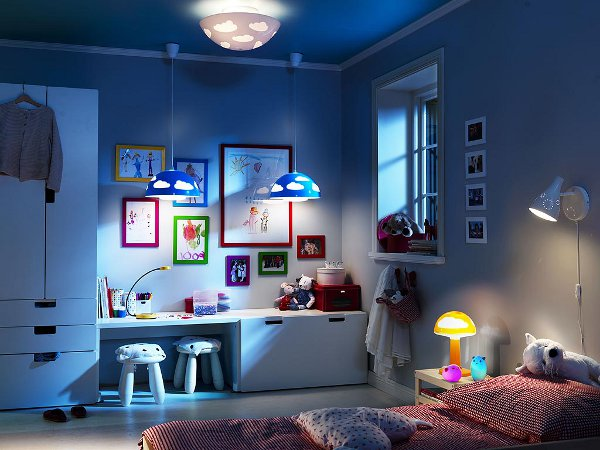 child's bedroom lights 1