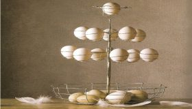 How to make an egg tree